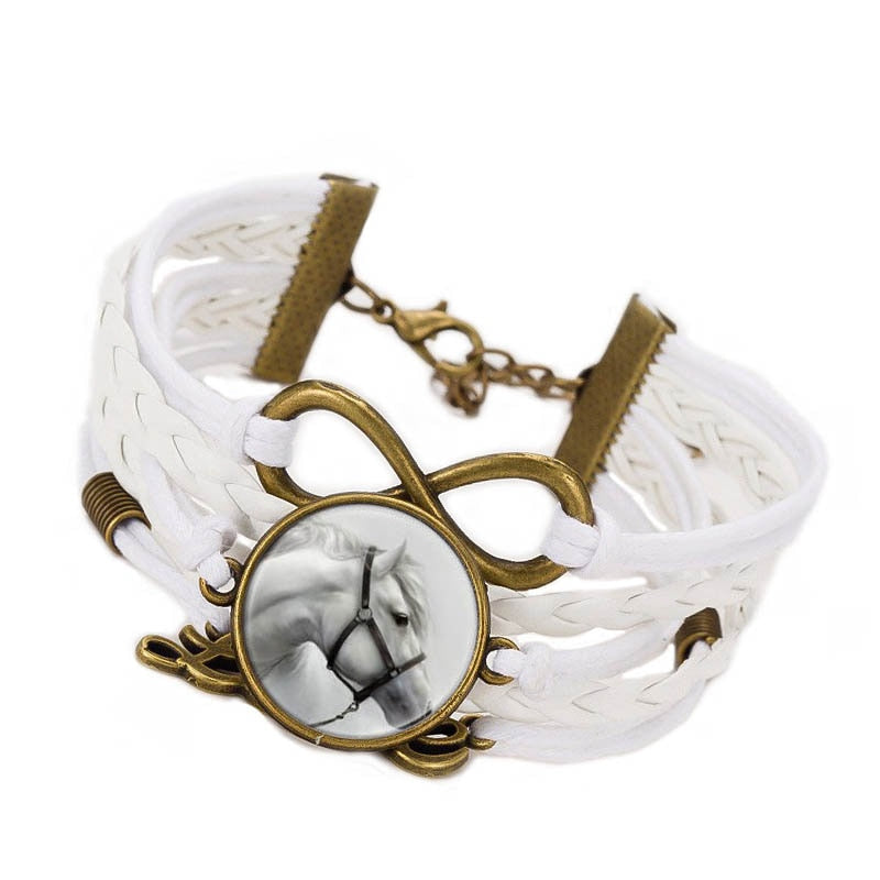 Incredible Horse Infinity Bracelet