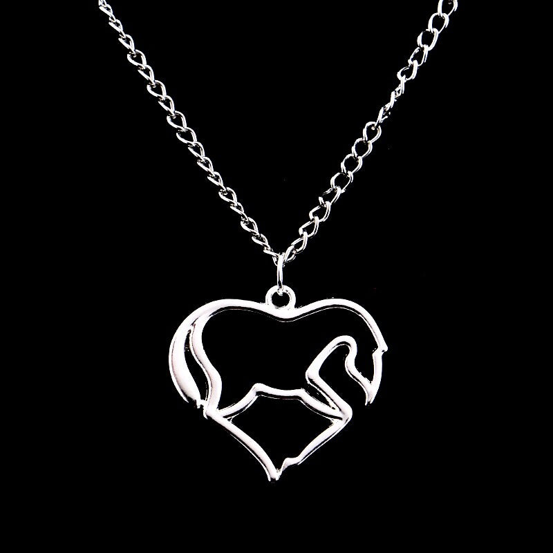 Horses Have My Heart Necklace