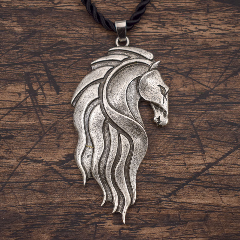 Horse Head Talisman Necklace