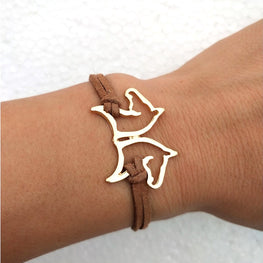 Double Headed Horse Bracelet
