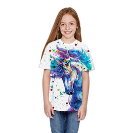 Fashion Unicorn Kids T Shirt