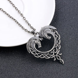 Vintage Horse Love Necklace