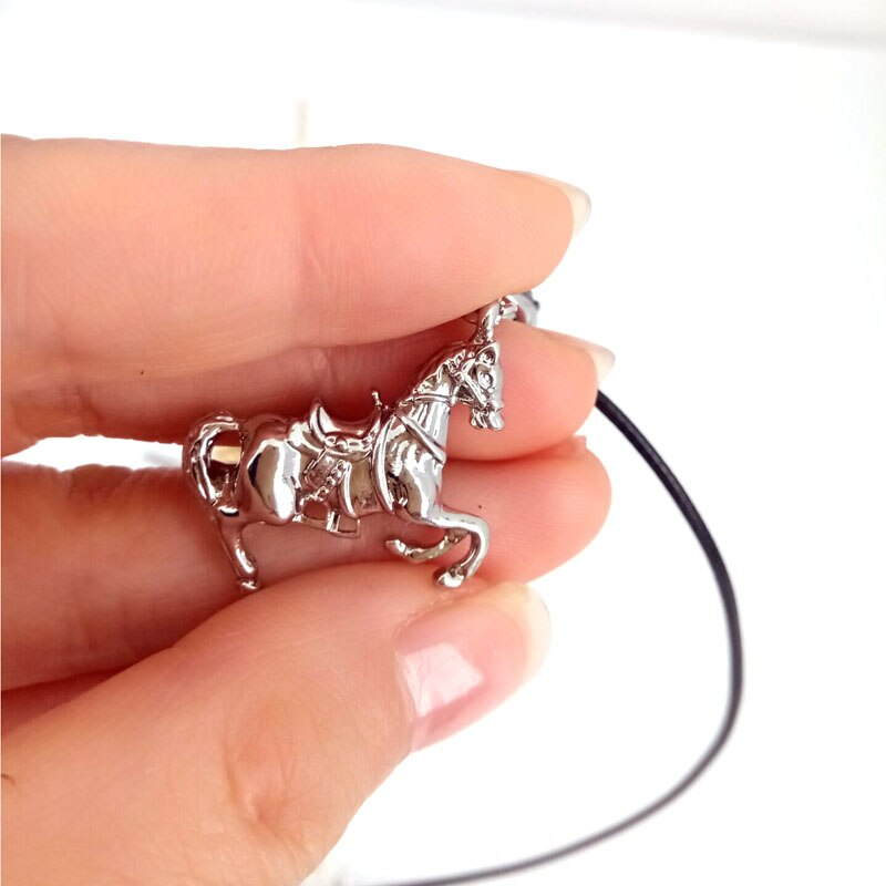 3D Horse Pendant Necklace