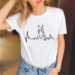 Heartbeat of Horses T Shirt