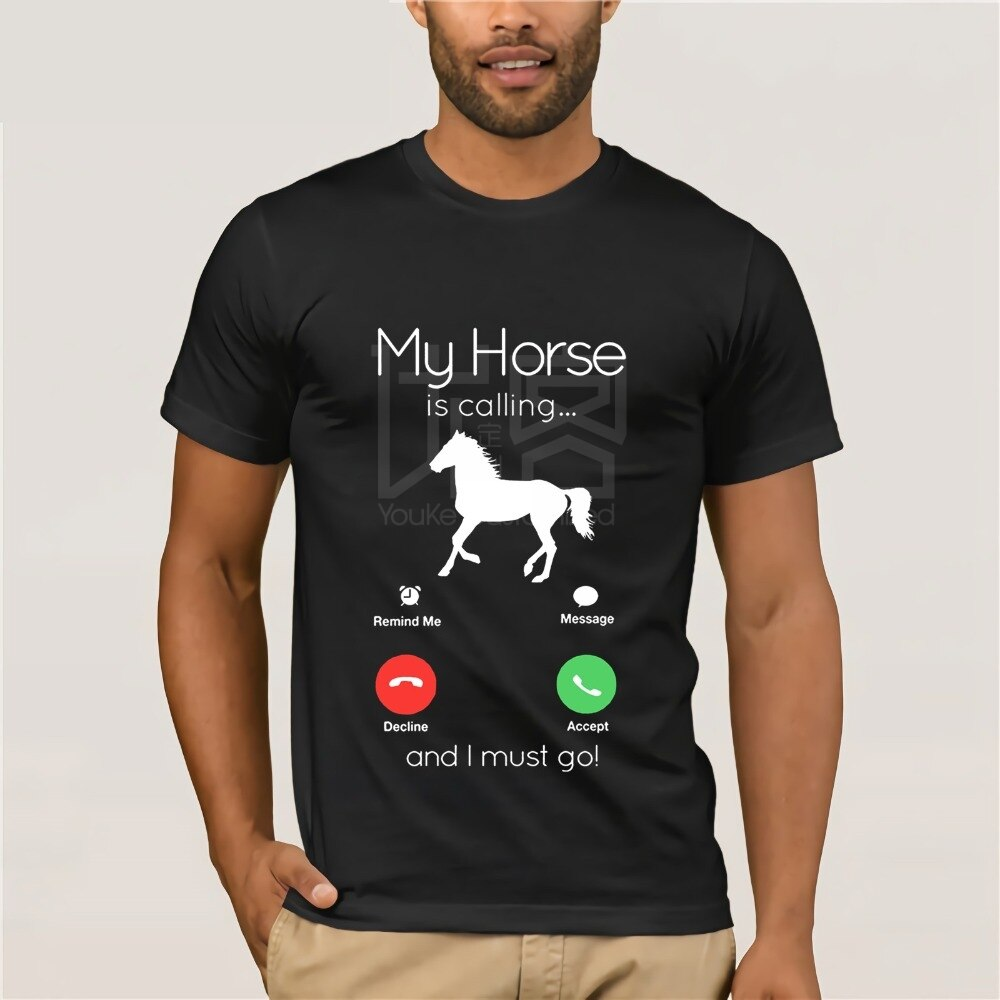 My Horse Is Calling and I Must Go Funny Tee