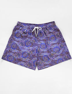 BOND PAISLEY PRINTED SWIM SHORTS
