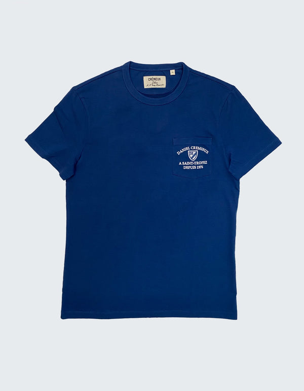 SAINT TROPEZ SUPIMA COTTON T-SHIRT
