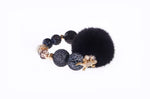 Black Queen Mink Bracelet