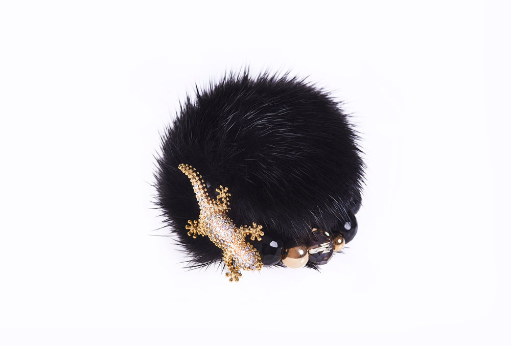 Black Mink Ring