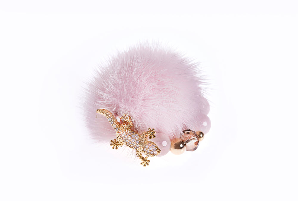 Candyfloss Pink Mink Ring