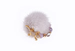 Silver Grey Mink Ring