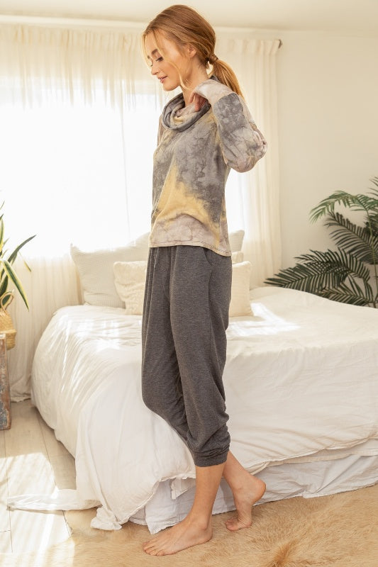 Mystree French Terry Cozy Jogger Pants