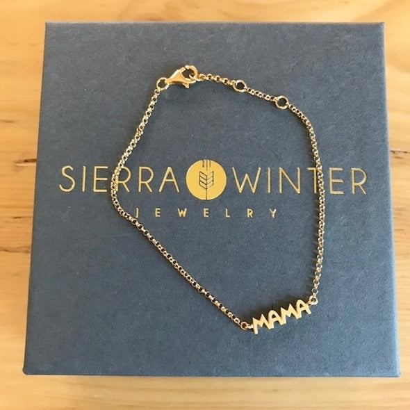 Sierra Winter MAMA BRACELET gold