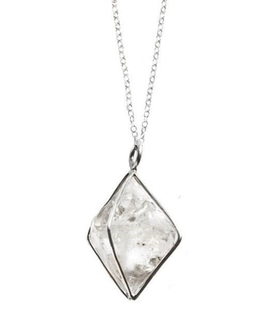 Great Falls Jewelry Large Herkimer Diamond Pendant