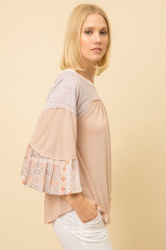 Mystree Print Swing Top