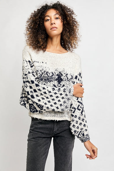 Free People Midnight Beach Pullover