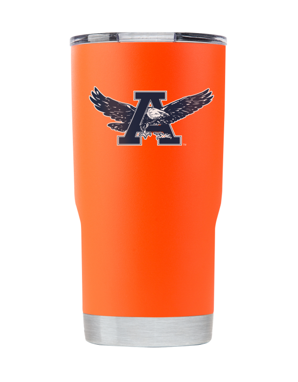 "20OZ ""WAR EAGLE"" ORANGE TUMBLER"