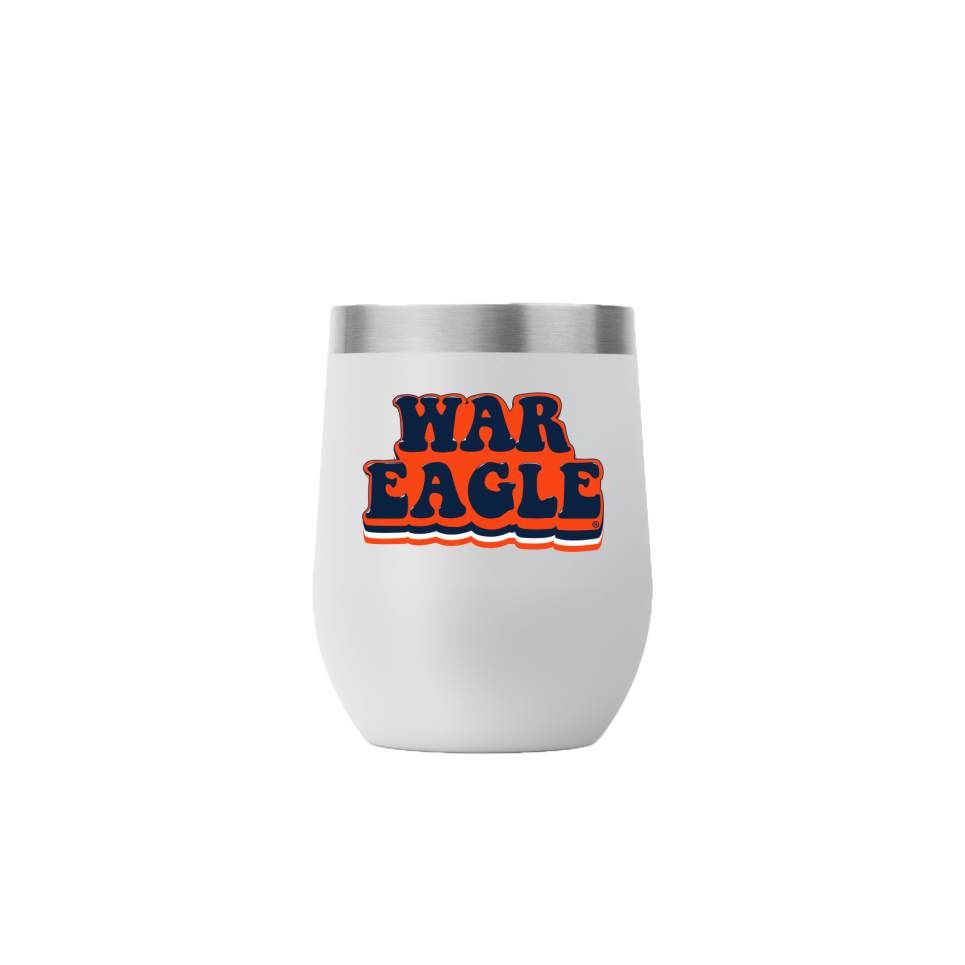 12oz Stemless Bubble War Eagle