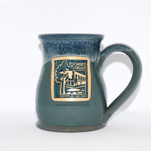Hand Made Teal Coffee Mug