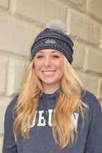 Load image into Gallery viewer, Navy Auburn Toboggan