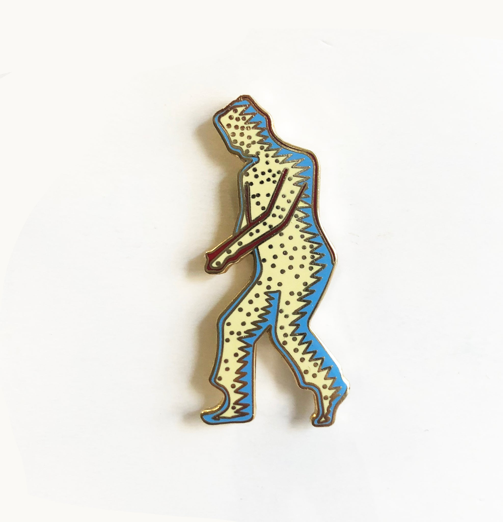 Man Dancer Pin