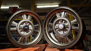 Set of 4 Reproduction 240Z Kobe Seiko Competition Works Rally-Mag Wheels