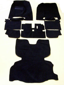 Datsun 280Z Pile Black Carpet Kit (early 1977)