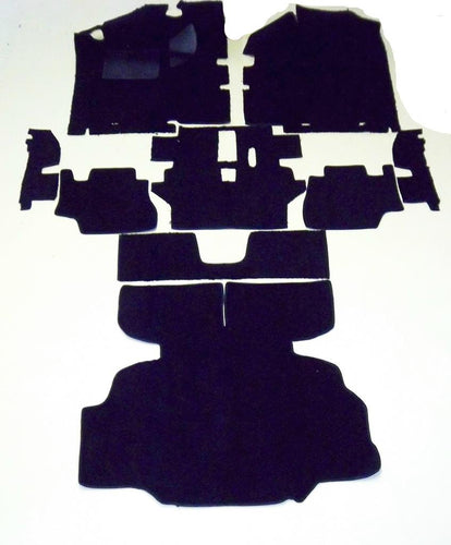Datsun 280Z Pile Black Carpet Kit (1975-1976)