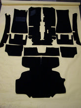 Load image into Gallery viewer, Datsun 240Z/260Z 11-Piece Loop Black Carpet Kit (1971-1974)