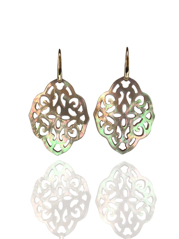 Changeable earrings gold