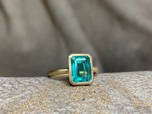 Emerald ring for Mary