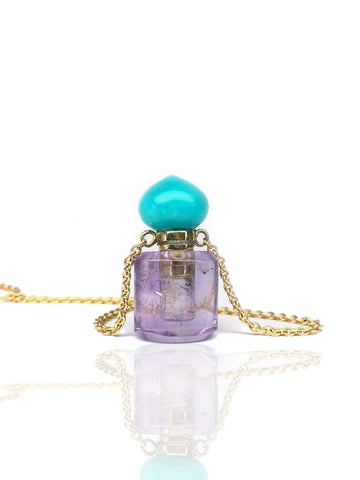 Perfume / Ashes bottle amethyst