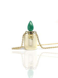 Parfume / Ashes bottle lemonquartz