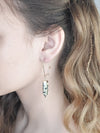 SPOTTED STONE EARRINGS