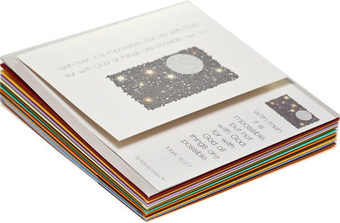 12-Note Card Variety Collection --Get one of each of the 12 note cards.