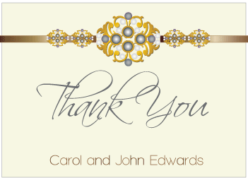Black Jewels III Thank You Card