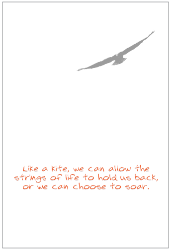 Choose to Soar Greeting Card