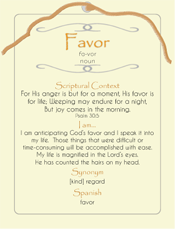 Favor Post Card