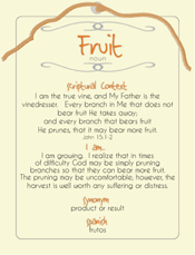 Fruit Post Card