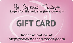 He Speaks Today™ Gift Card