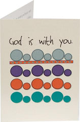 God is with you. - Kid Card: Ages 3-5 (3 Cards) - Vendors