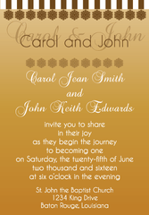Gold Gradient Invitation