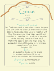 Grace Post Card