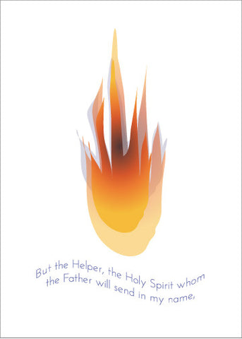 Holy Spirit Greeting Card