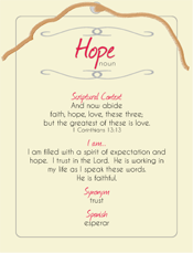 Hope Post Card