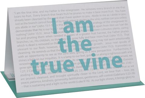 Abide in Me Greeting Card (2 Cards)