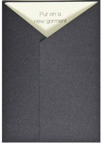 A New Garment Greeting Card