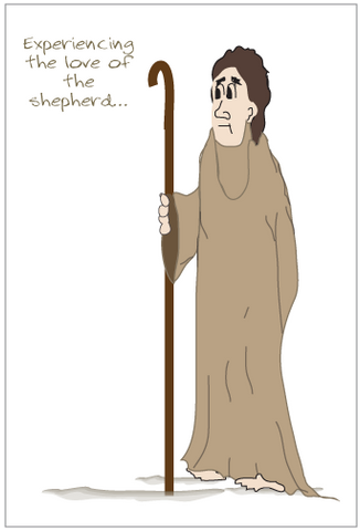 Love of the Shepherd Greeting Card