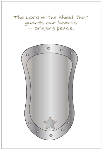 The Lord Our Shield Greeting Card