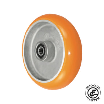 "8"" Polyurethane on Aluminum Wheel"
